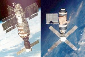 Салют-1 и Скайлэб