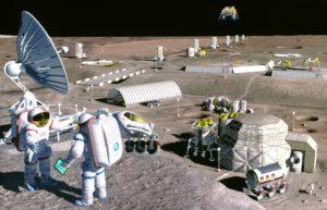 Проекты лунных поселений