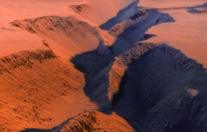 Финский кинорежиссер создал имитацию полета над Марсом