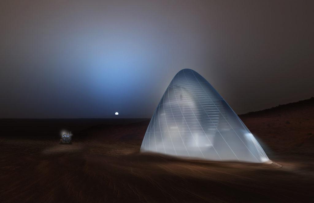 Марсианский ледяной дом