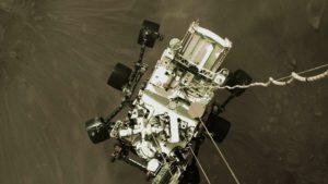 Посадка Персеверанс на Марс